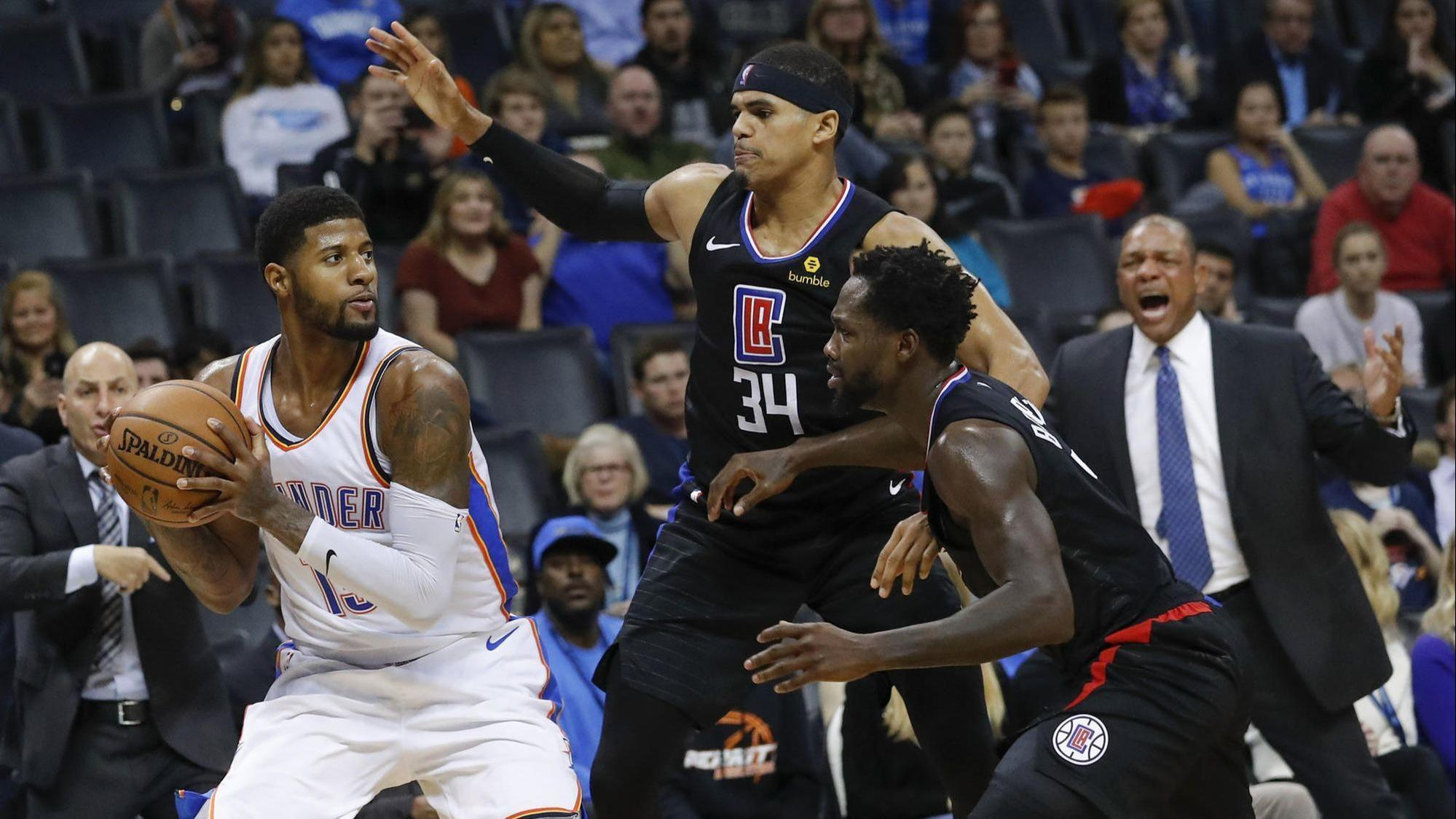 Clippers find mojo in loss at Oklahoma City
