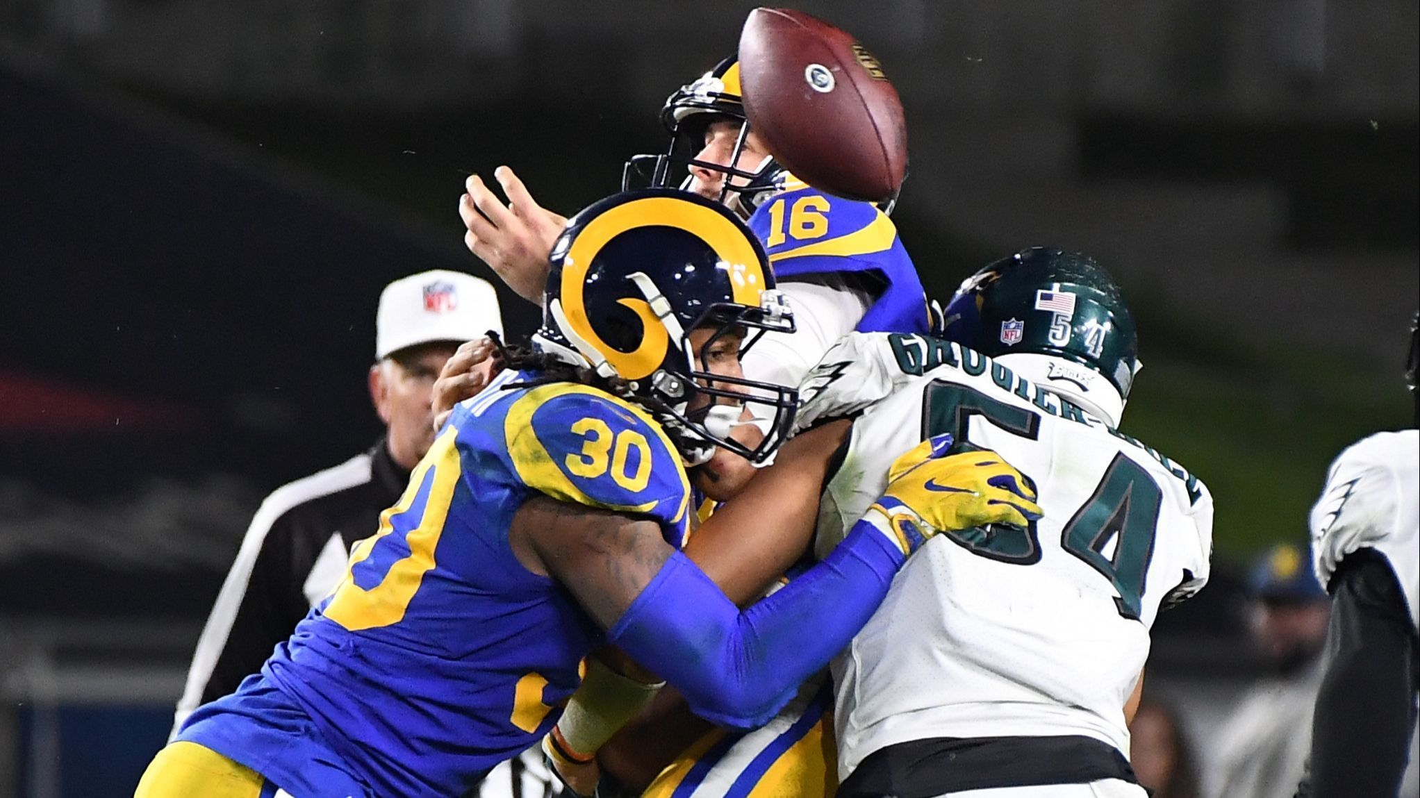 Rams' most troubling trend: Jared Goff has been off the mark
