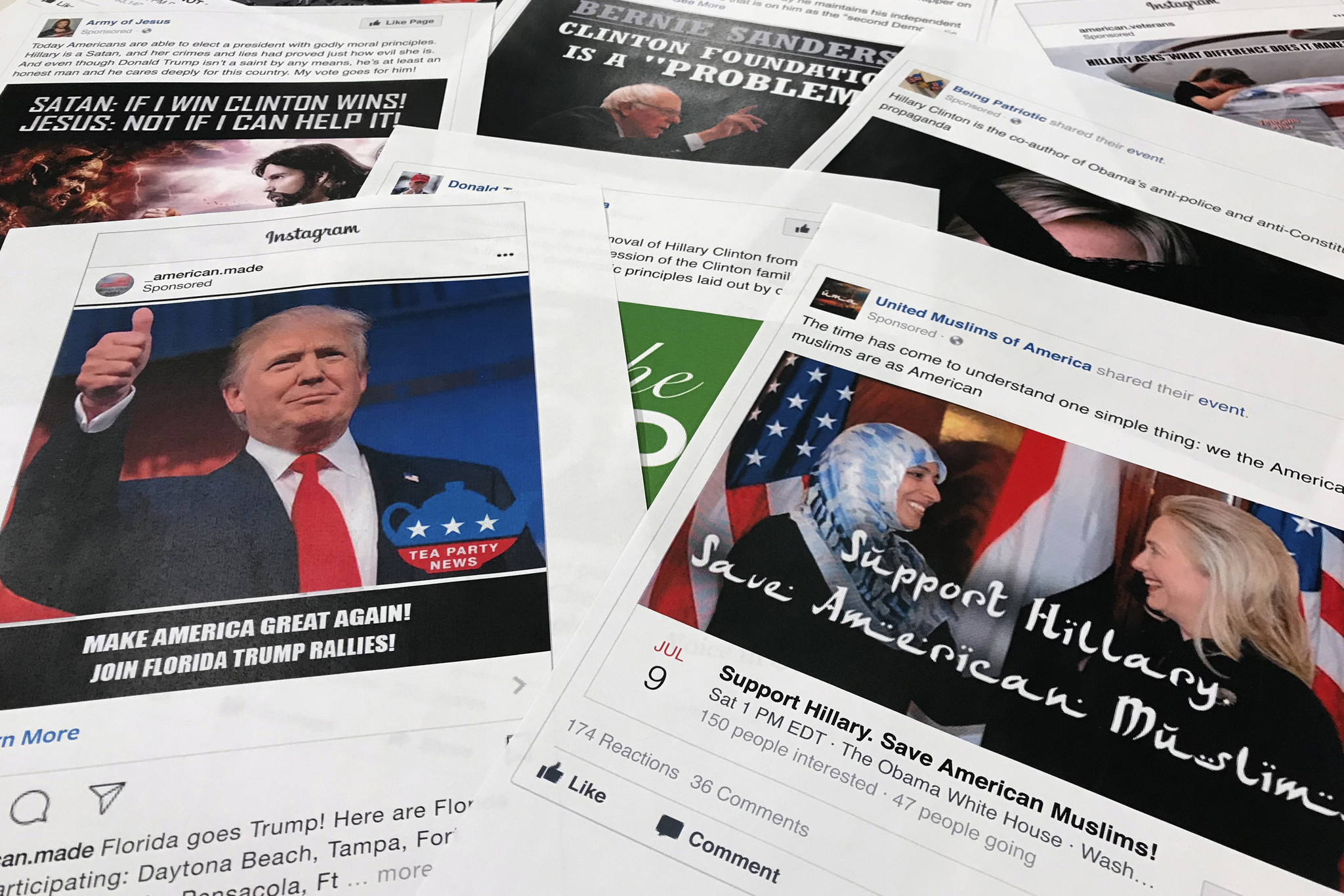Senate report: Russia social media influence efforts ongoing