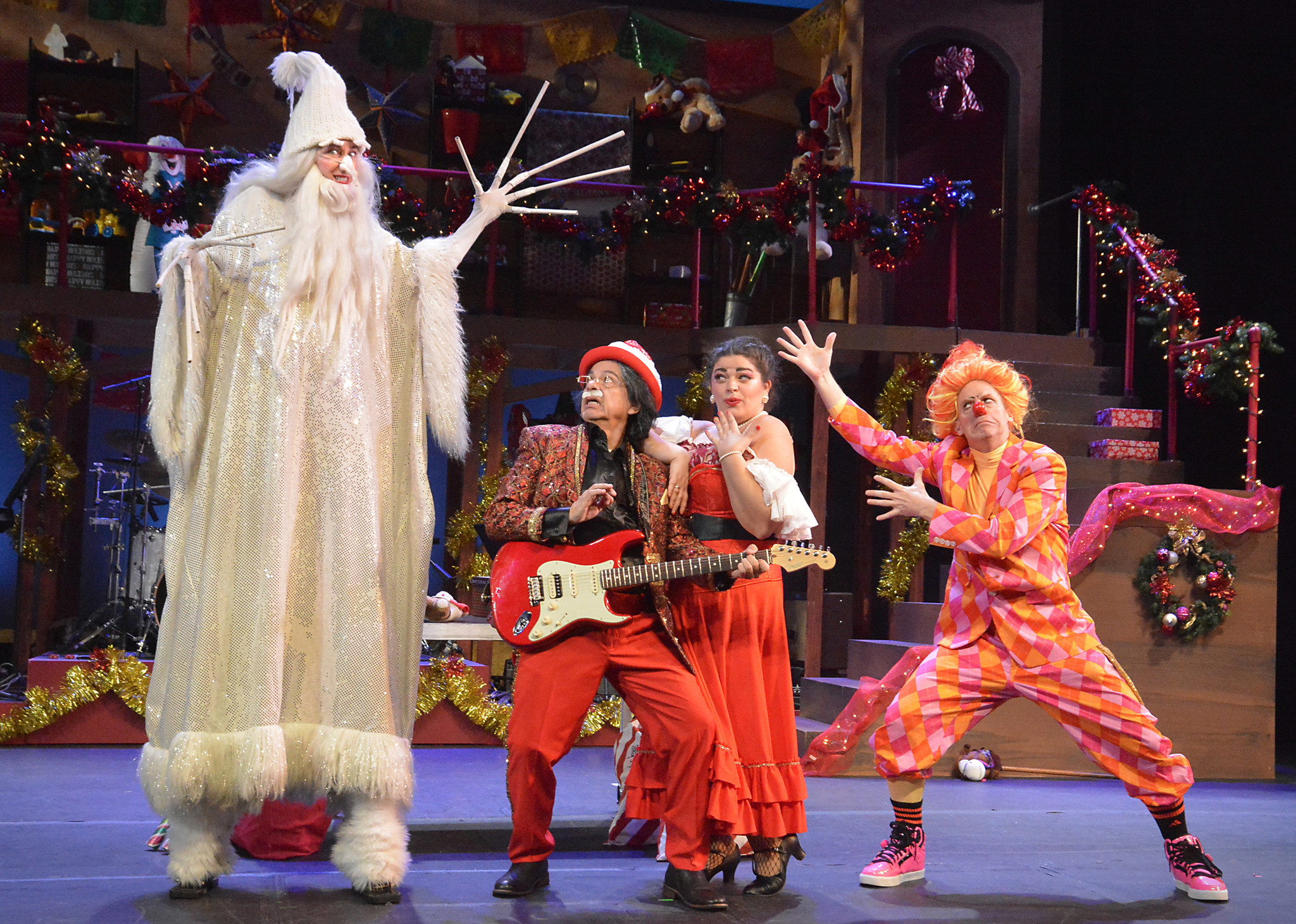 Review: Did Carlos Santana ever imagine this? The Troubies get raucous with 'Santana Claus'
