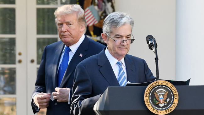 Exasperated over market plunge, Trump reportedly asked advisers about his power to fire Fed chair Jerome Powell