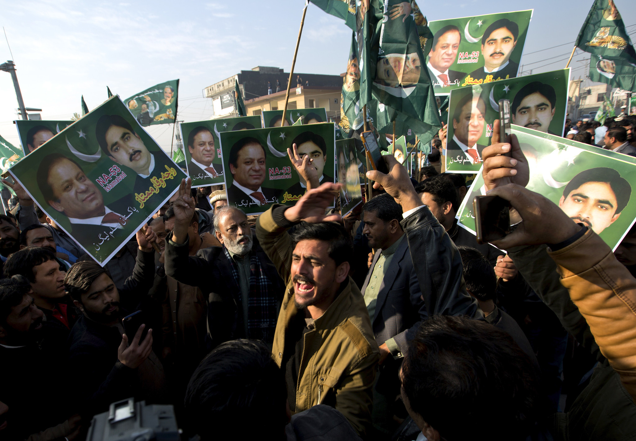 Pakistan's former prime minister sentenced to 7 years for corruption