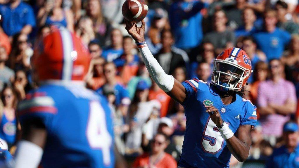 uf first year qb emory jones patiently awaits his opportunity with