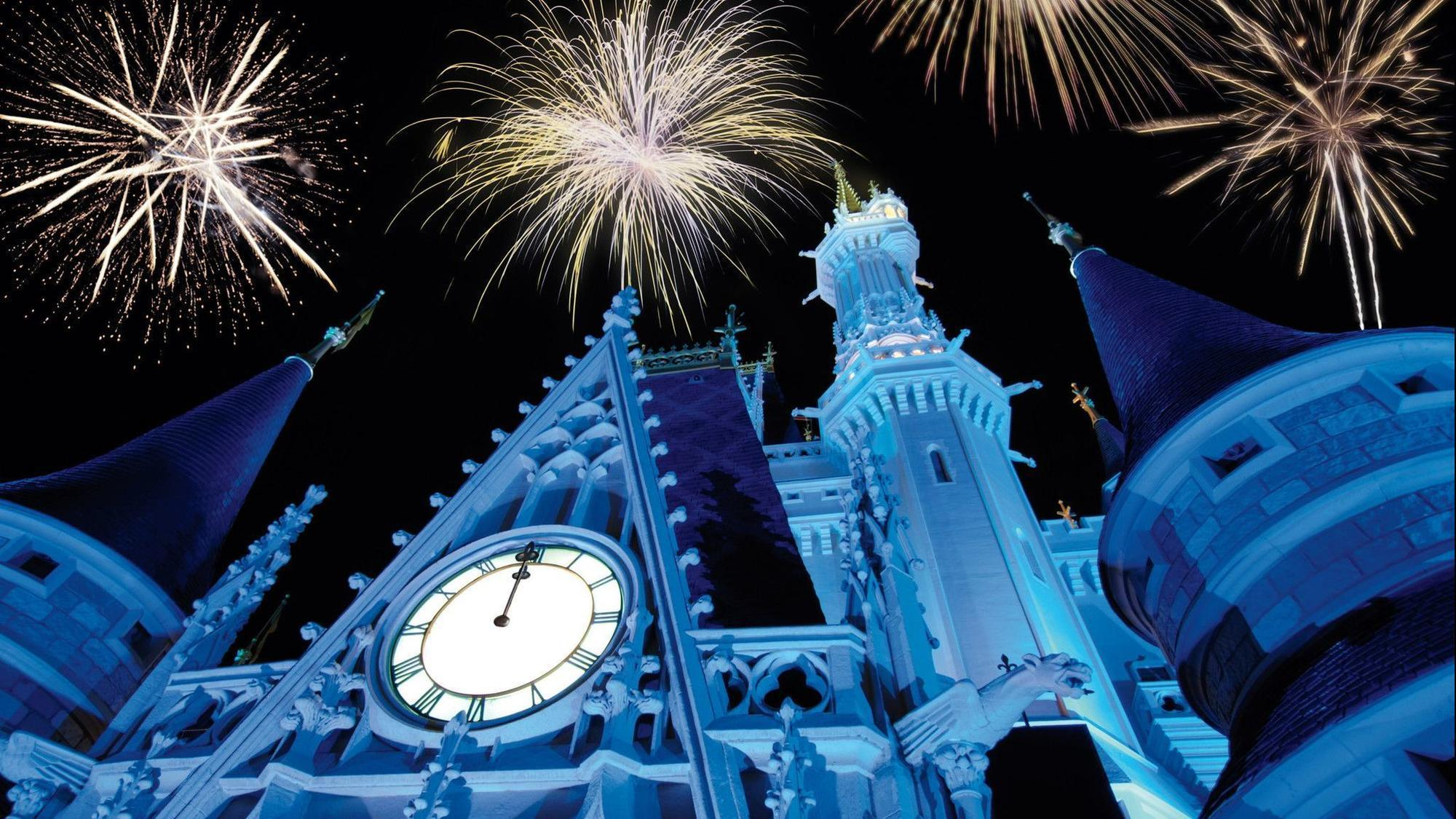 disney new years eve fireworks livestreamed from magic kingdom orlando sentinel
