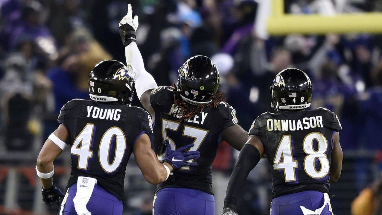 ravens clinch first playoff berth since 2014 in high stakes season