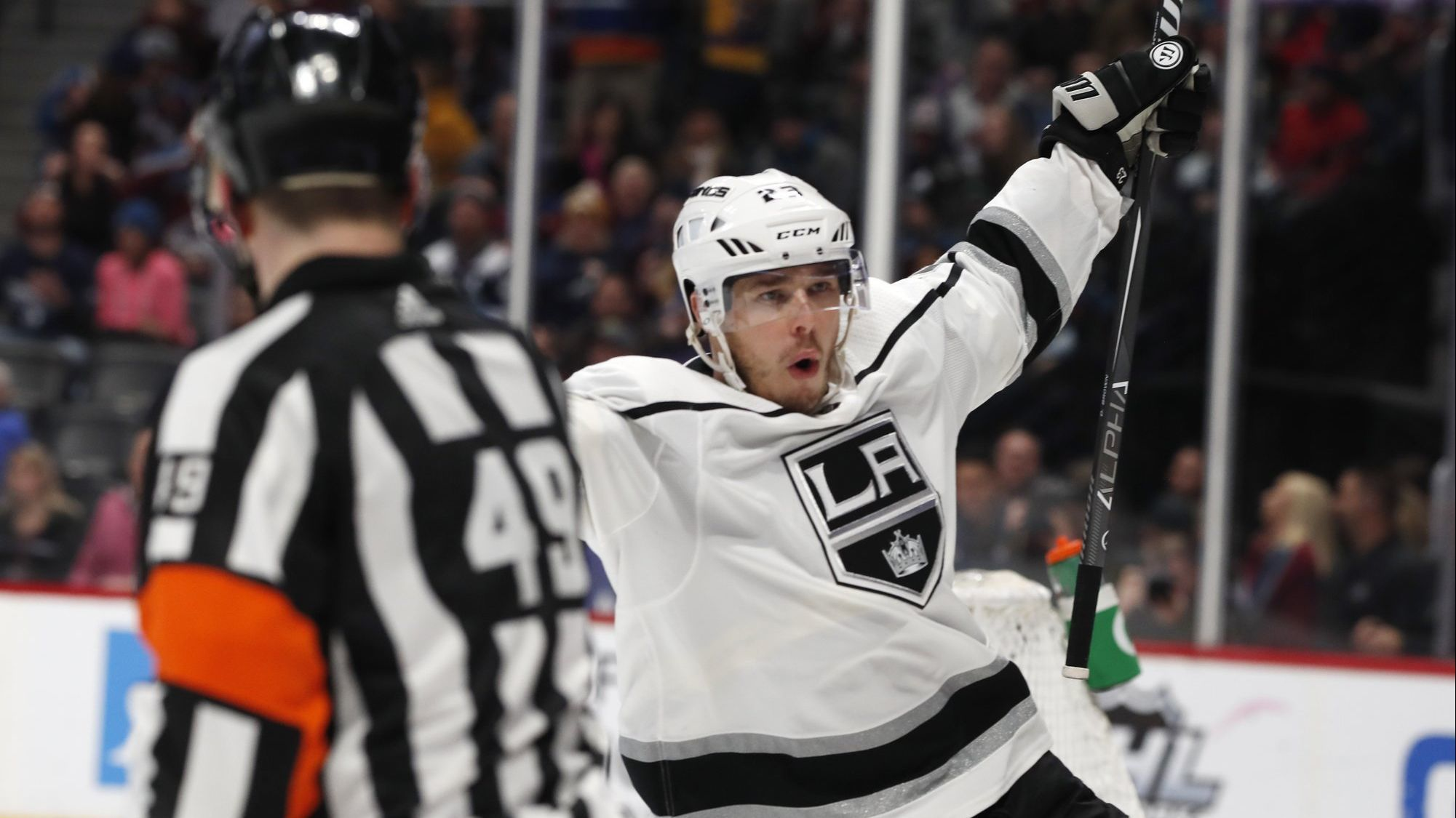 Dustin Brown's overtime goal lifts Kings over Avalanche 3-2