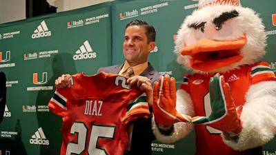 UM's Manny Diaz outlines vision for Hurricanes as he is introduced as new coach