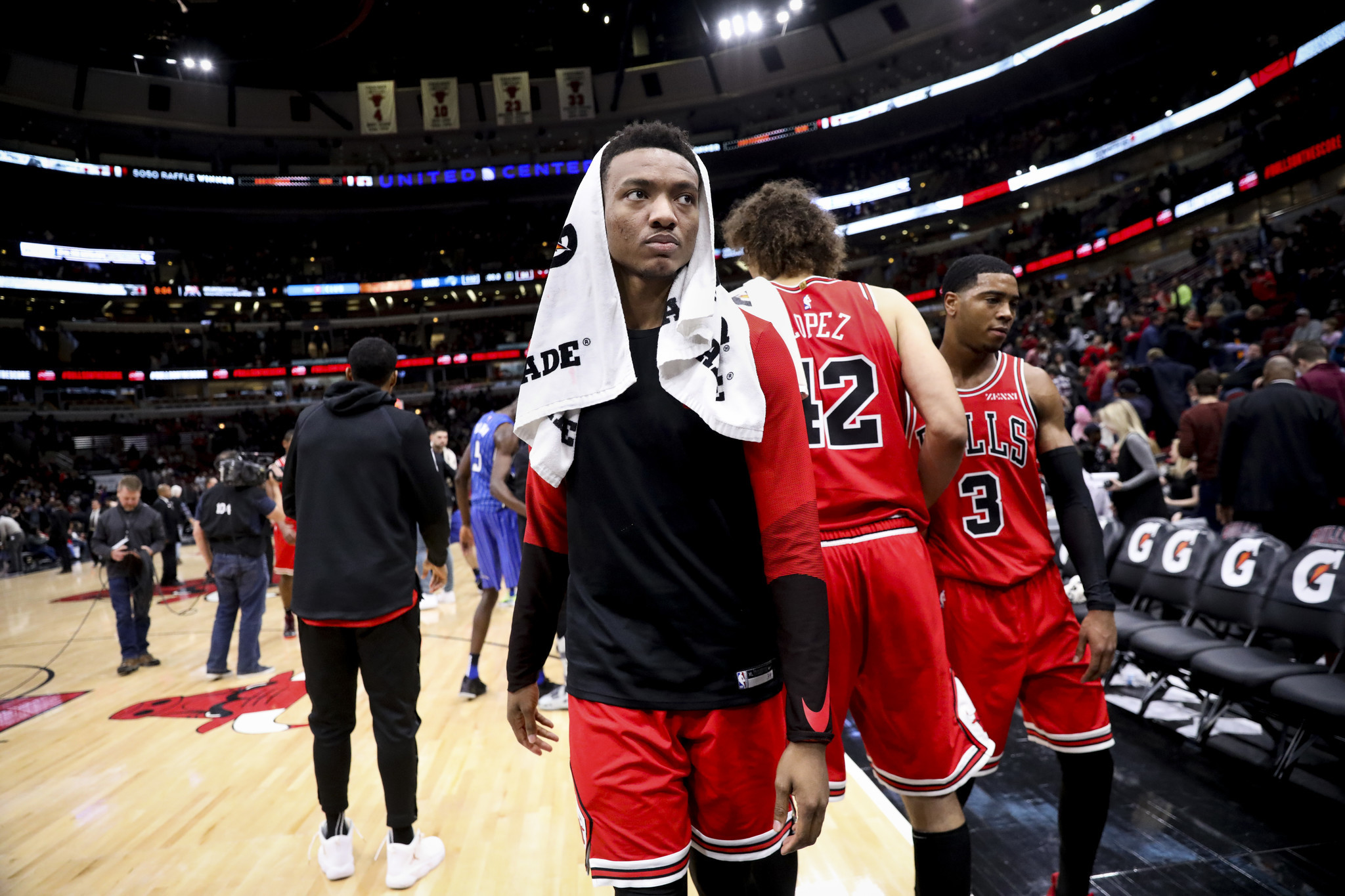 Wendell Carter Jr., who was limited to 44 games because of a thumb injury, fails to land on the NBA All-Rookie teams
