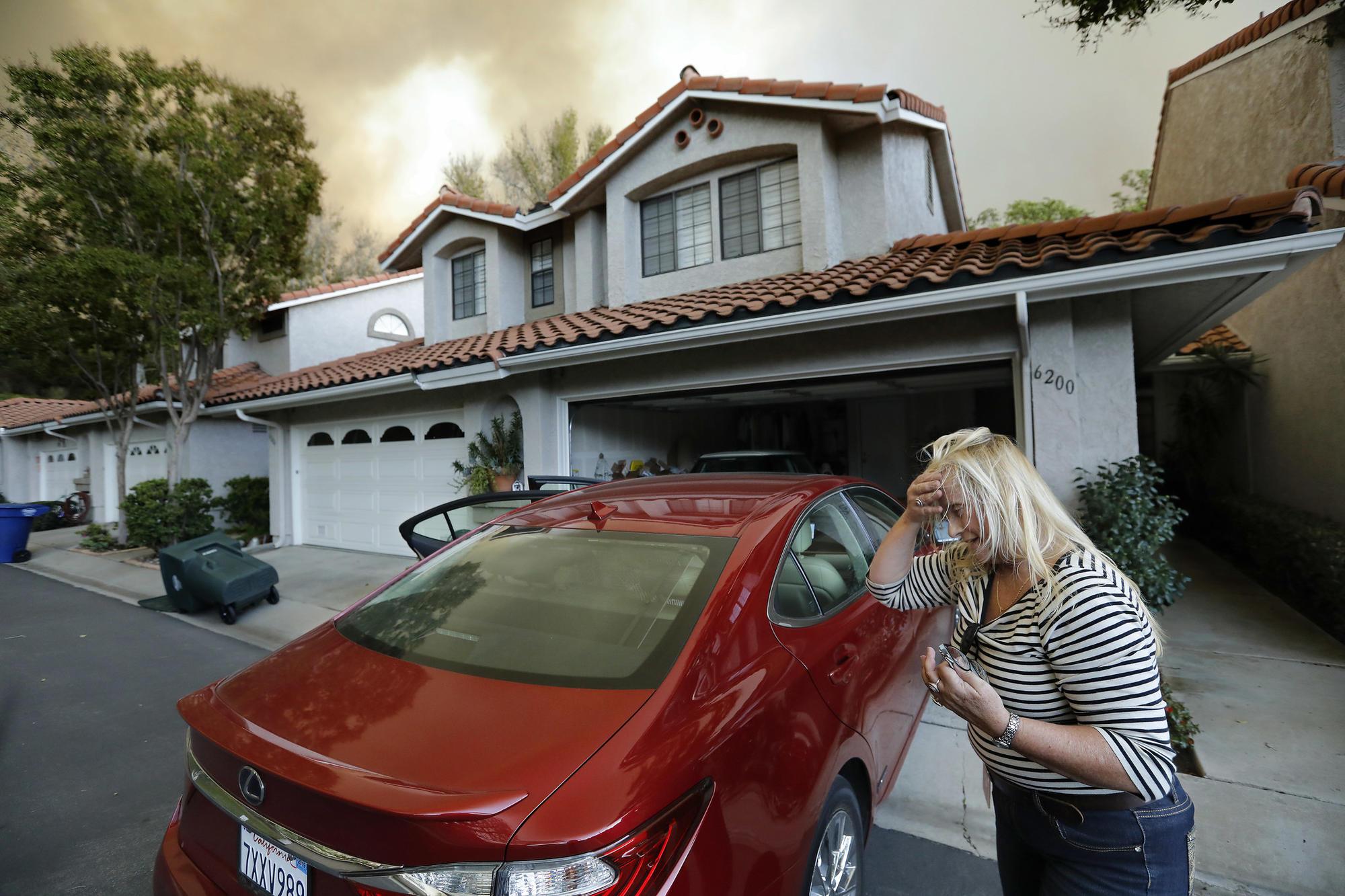 Hill fire in Camarillo