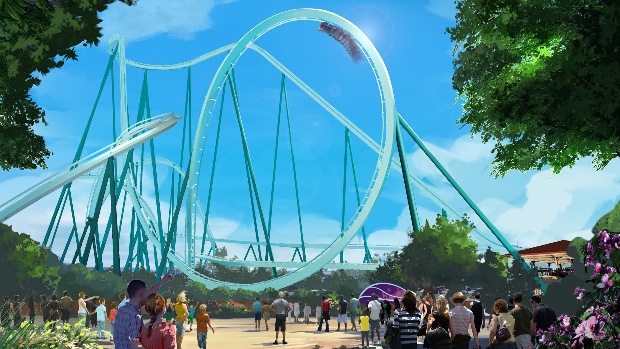 SeaWorld doubles down on thrill rides, with third roller coaster in three years and its tallest yet