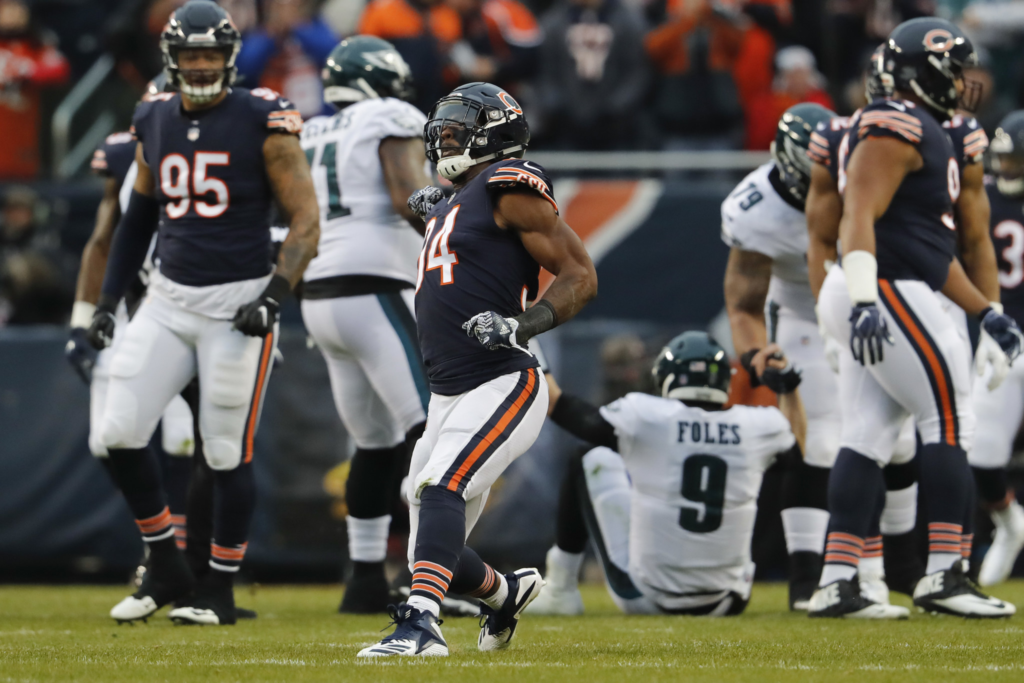 Leonard Floyd is bigger, stronger, healthy — and ready for a breakout season opposite Khalil Mack