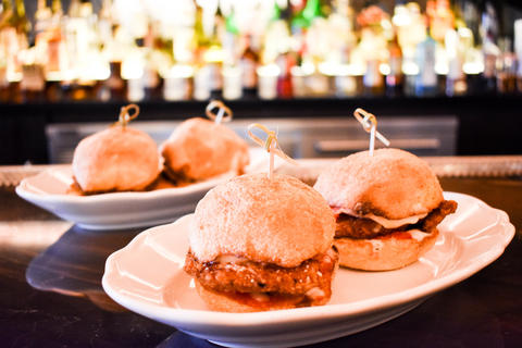 Sliders available on the nightly bar menu atFormento's, 925 W. Randolph St. in the West Loop.