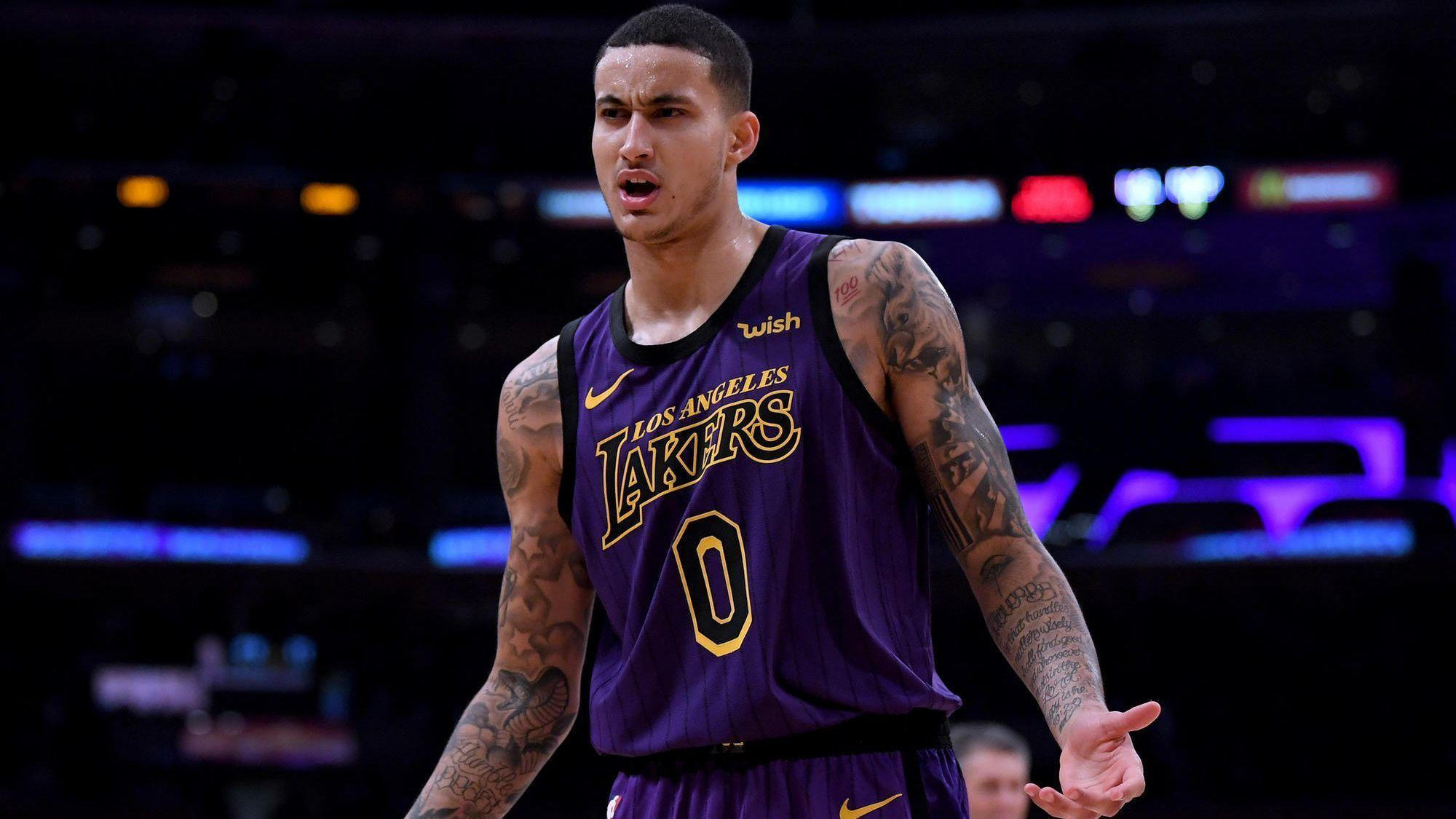 Lakers' Kyle Kuzma shines with 41 points against the team he grew up rooting for