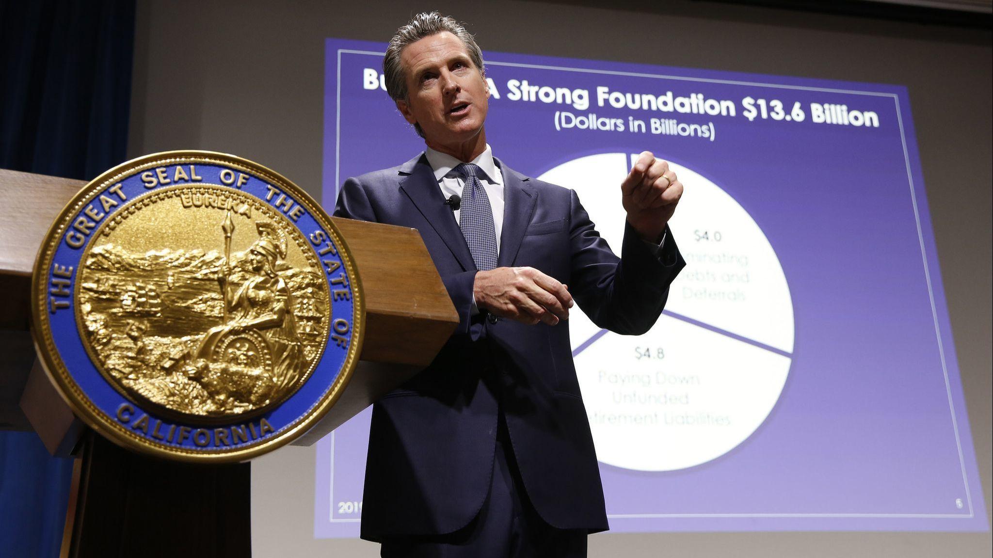 Gavin Newsom just pried open California's checkbook