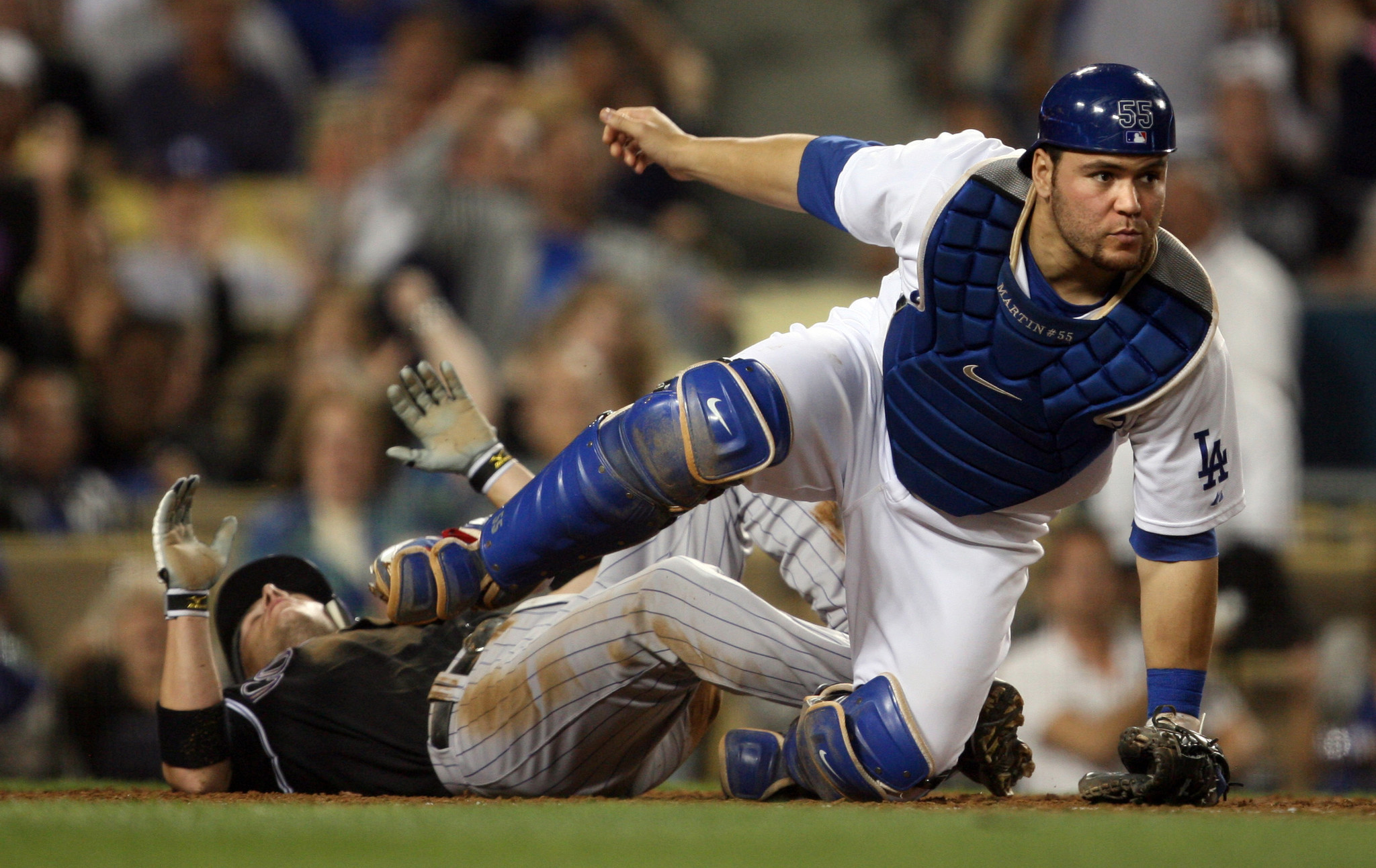 Dodgers Dugout: Russell Martin is back, but where's Bryce Harper?