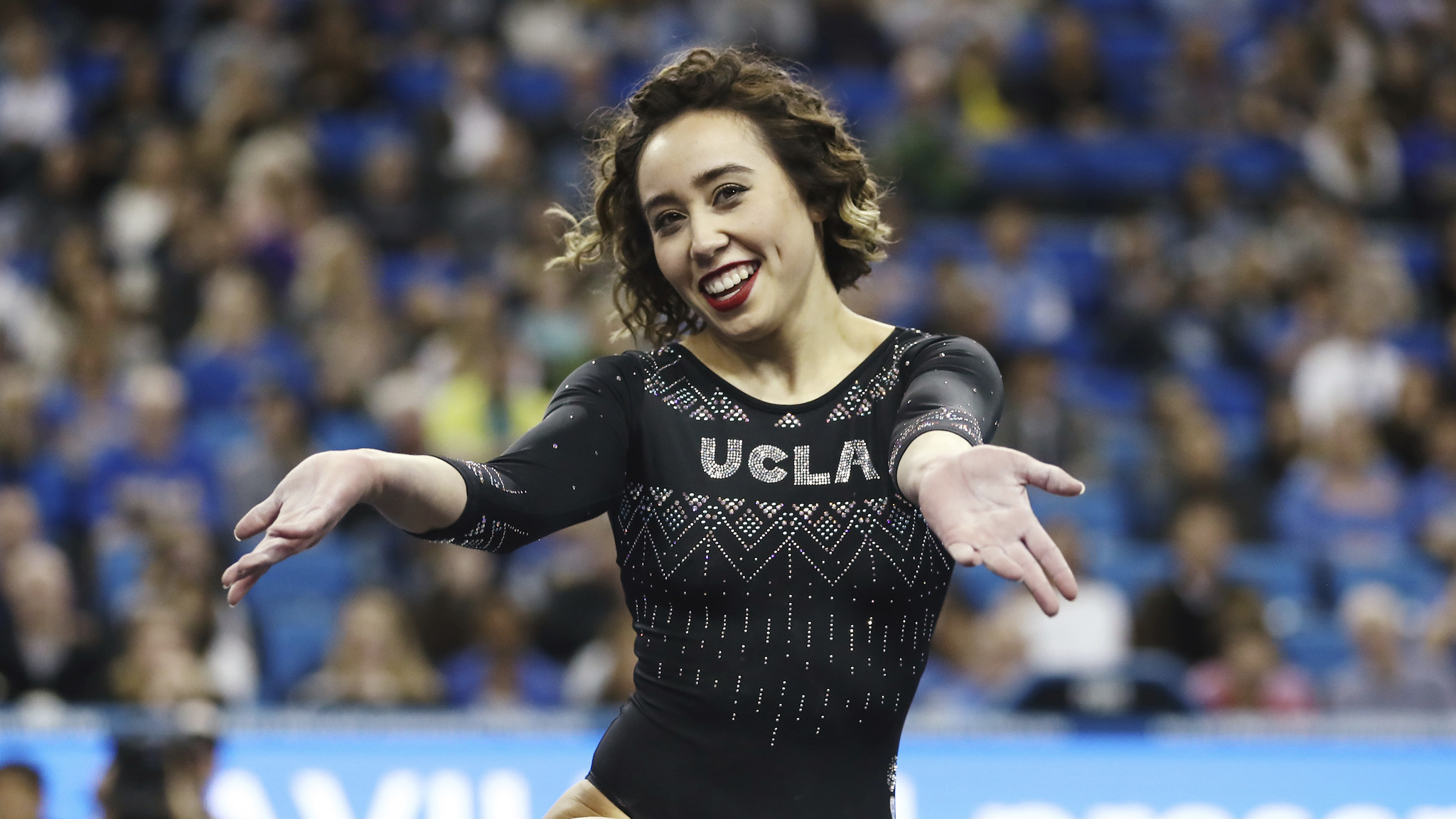 UCLA gymnast's stunning floor routine goes viral: 'A 10 isn't enough'