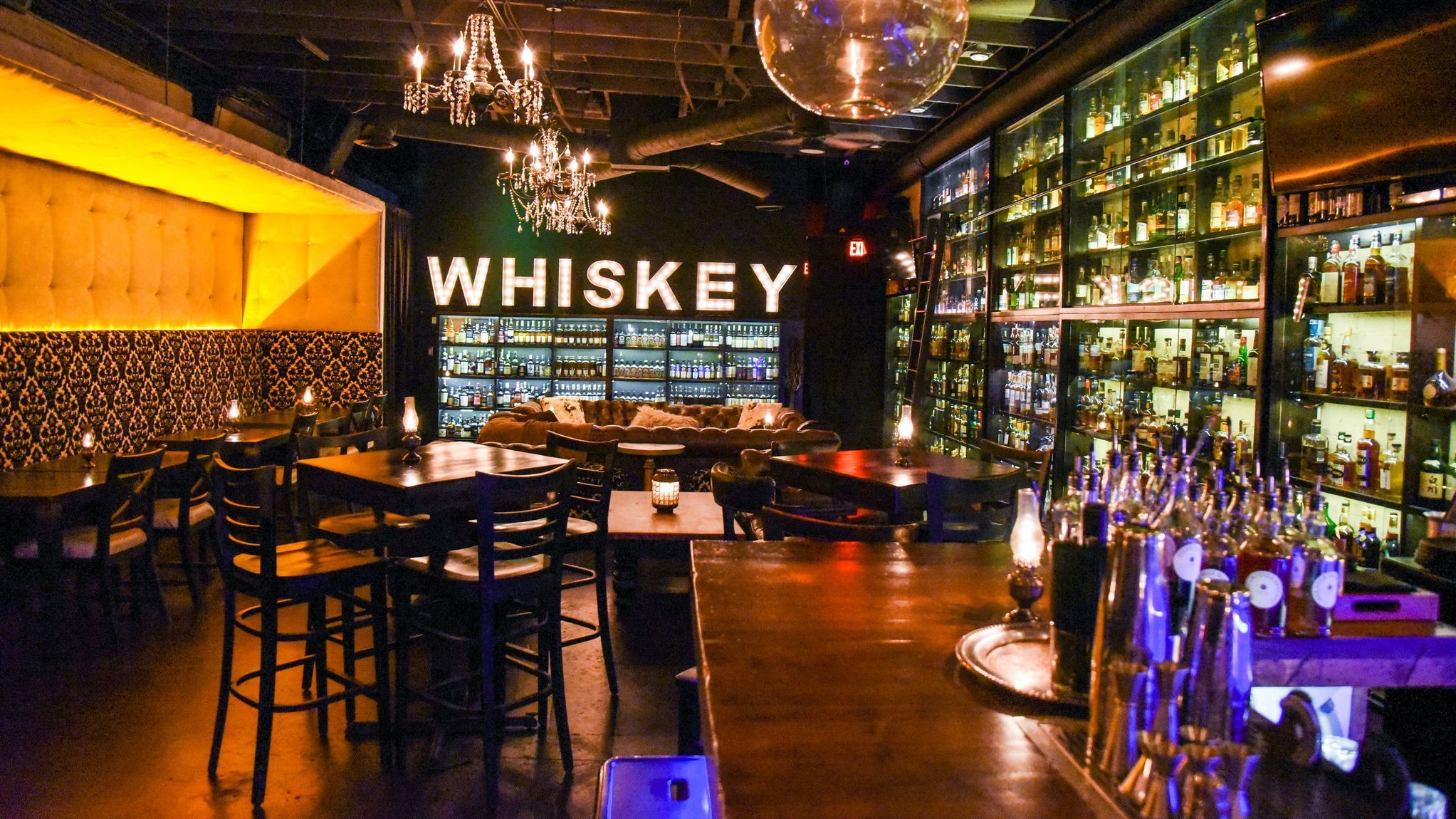 Gaslamp bar aims for Guinness record for world's largest whiskey collection