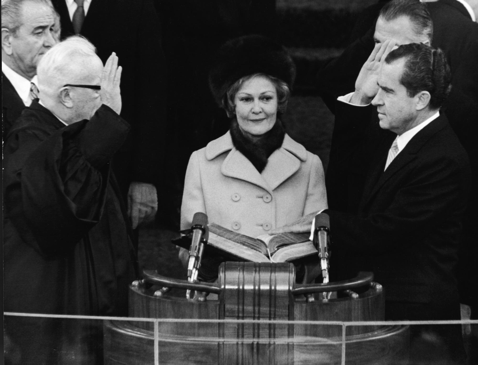 Nixon inauguration