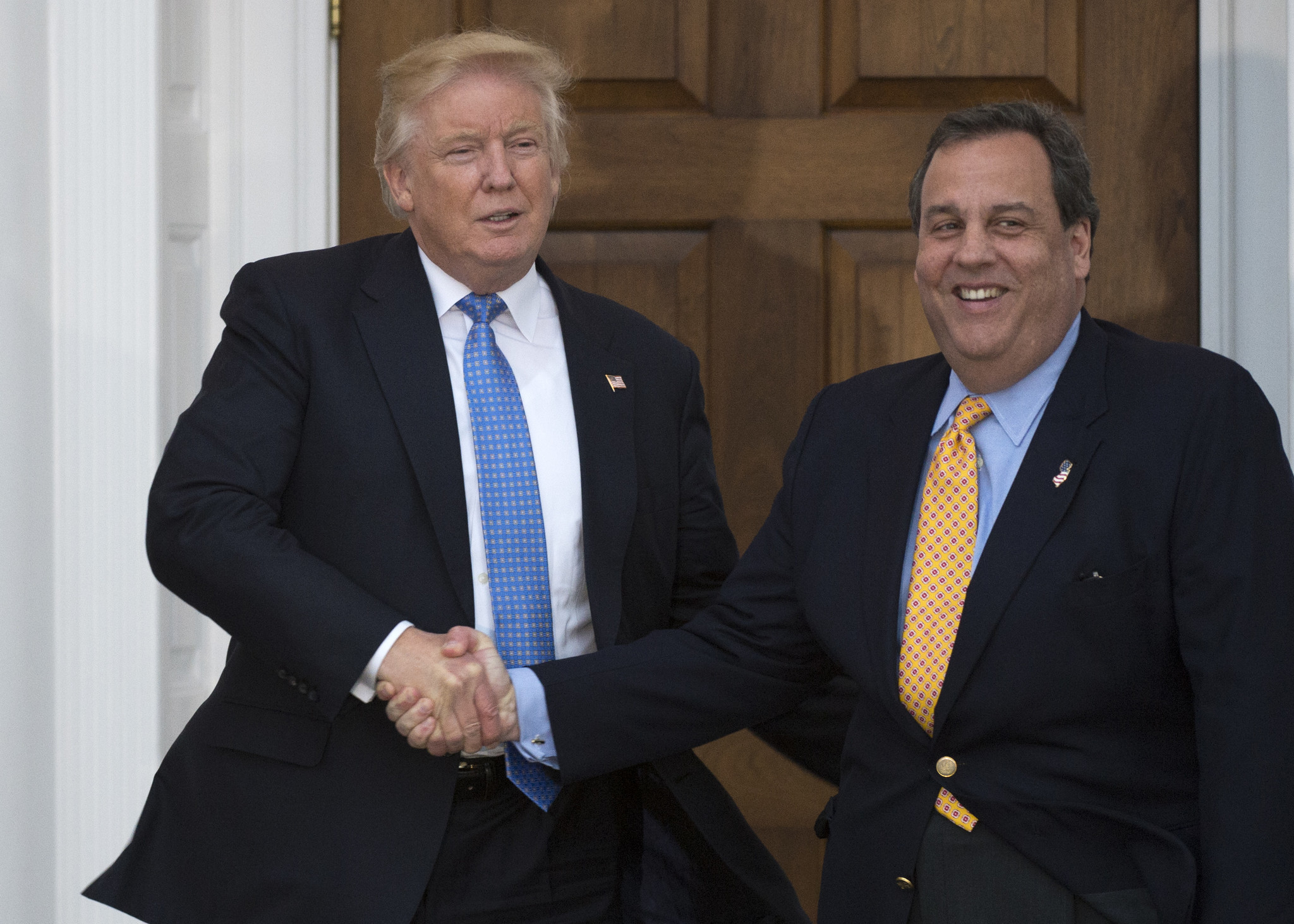 President Trump gave Chris Christie fashion tips on how to appear thinner