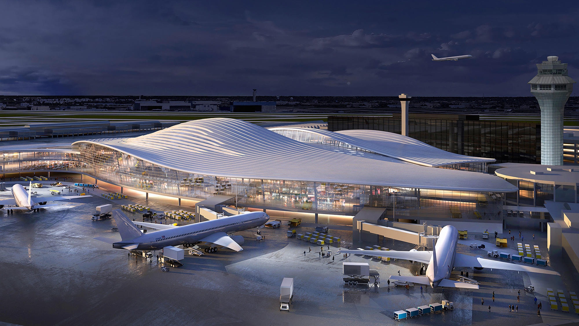 Here are the 5 ideas being proposed for O'Hare's massive expansion