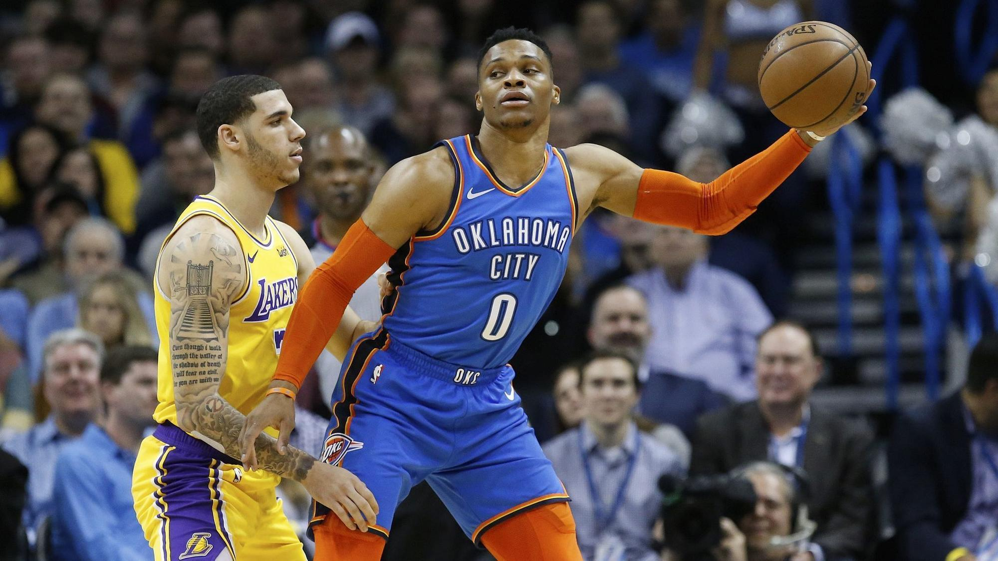 Lakers erase 17-point deficit in overtime victory over the Thunder