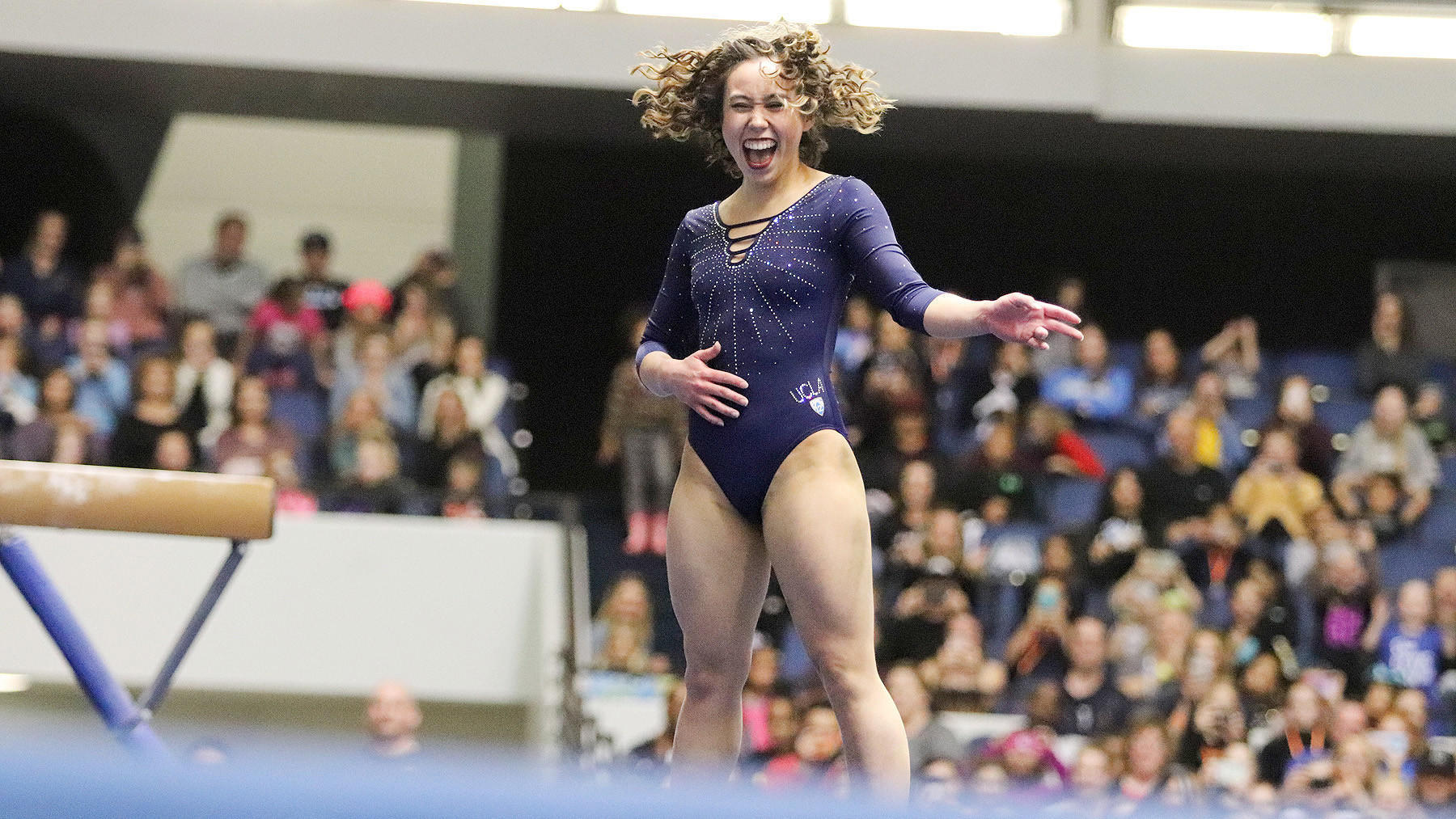 UCLA's Katelyn Ohashi rediscovers her joy of gymnastics and becomes an internet sensation