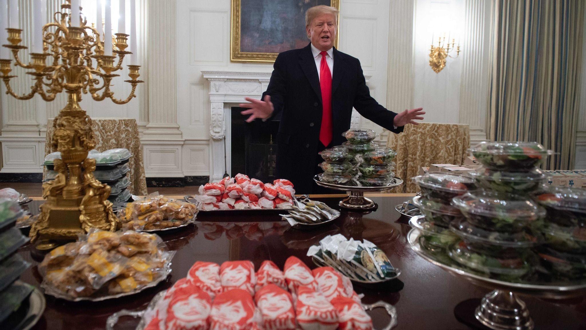 Jesse Jackson says President Trump serving fast food to Clemson football team was 'disgraceful'