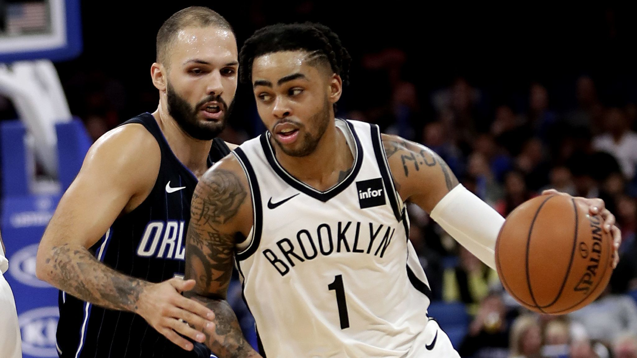 NBA Fastbreak: D'Angelo Russell, former future of Lakers, lives up to hype with Nets