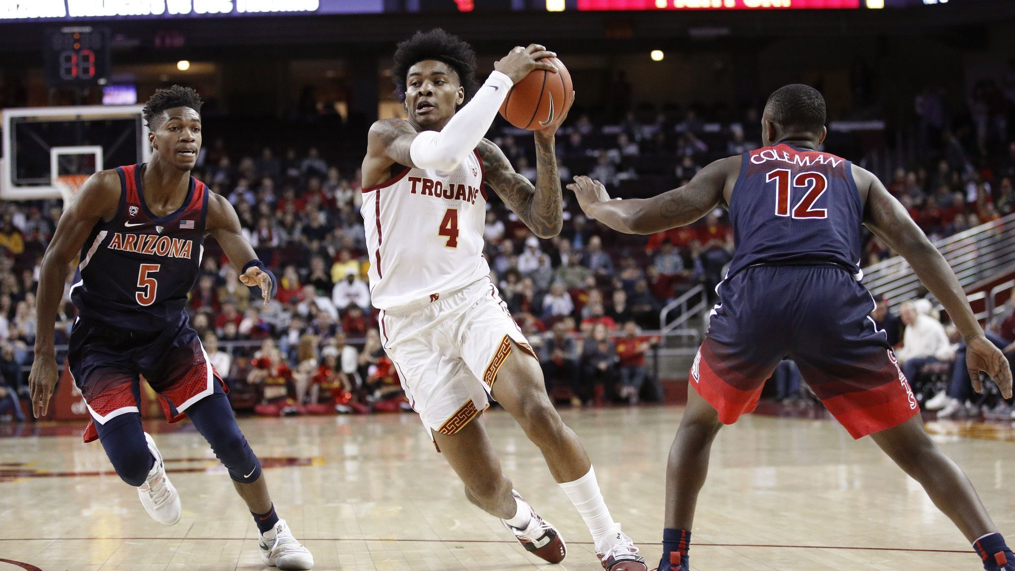 Kevin Porter Jr. shows off his skills as USC romps Arizona