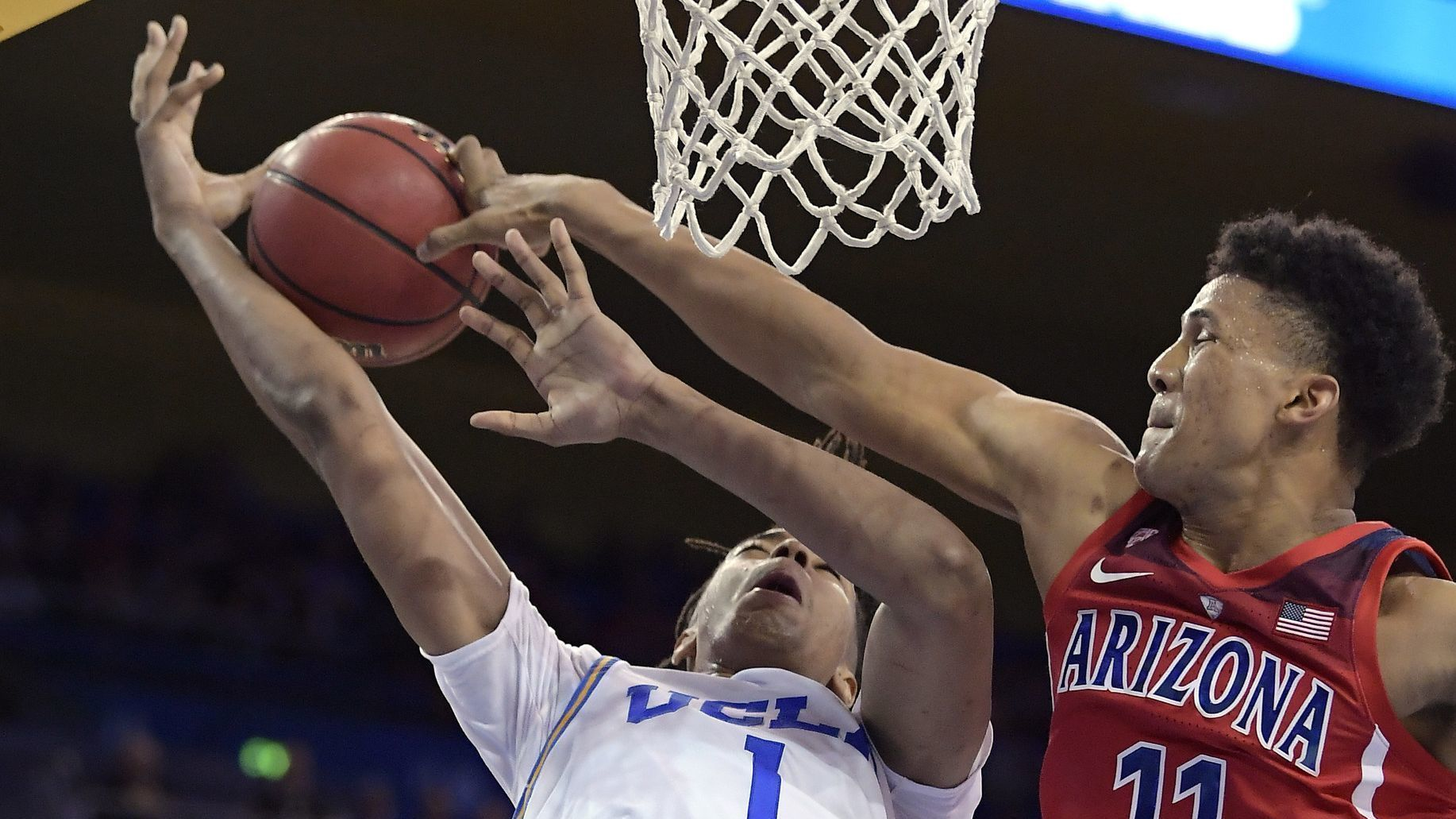 UCLA's basketball team has had trouble reaching for the stars this season