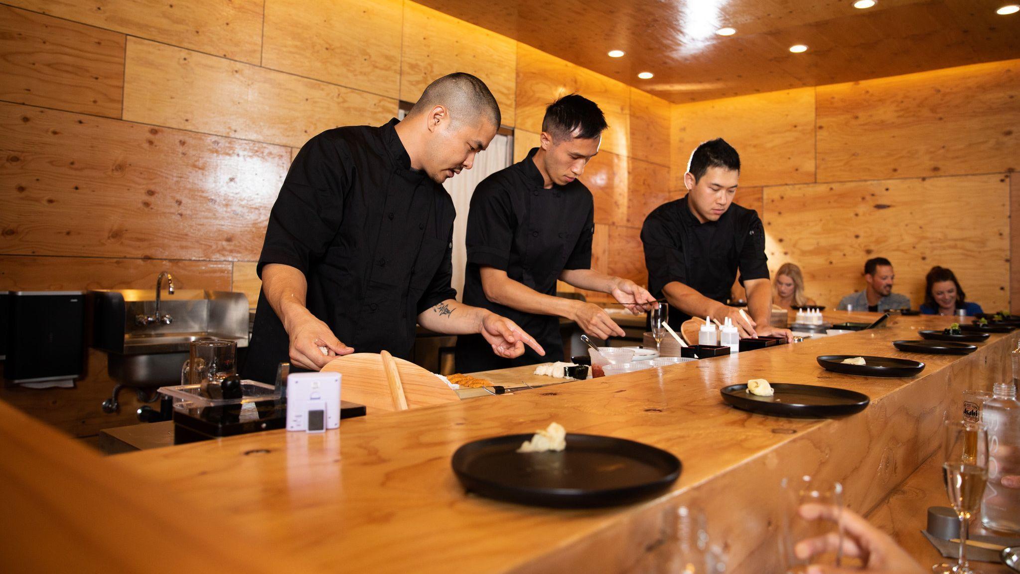 All-omakase Hidden Fish sushi not so secret anymore