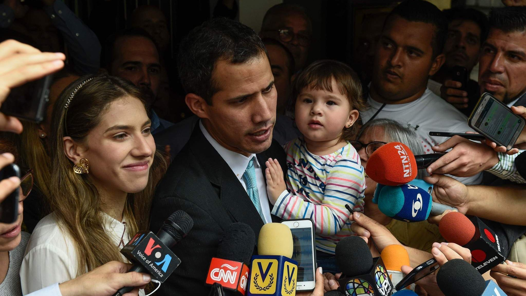 'I hold you responsible': Venezuela's opposition leader says police were sent to intimidate his family