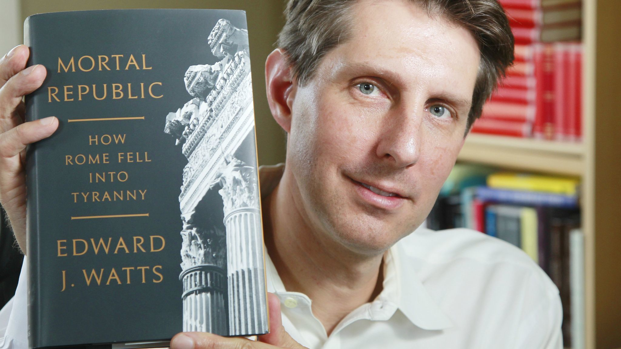 UC San Diego history prof's book on fall of Rome's democracy draws parallels to today