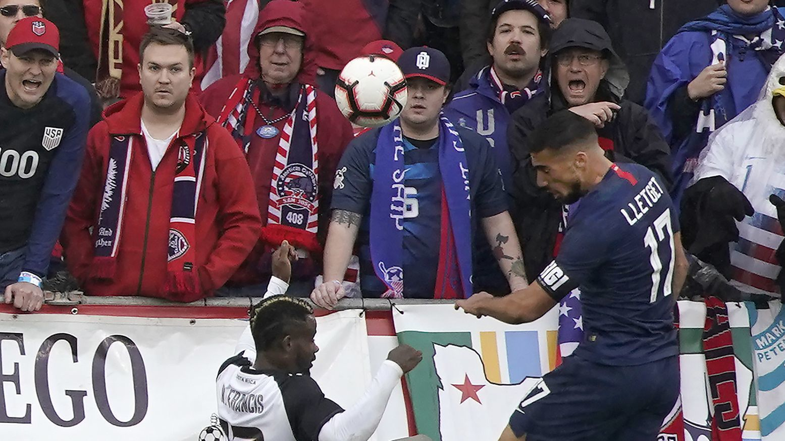 Tears of joy for Sebastian Lletget after leading U.S. to victory over Costa Rica