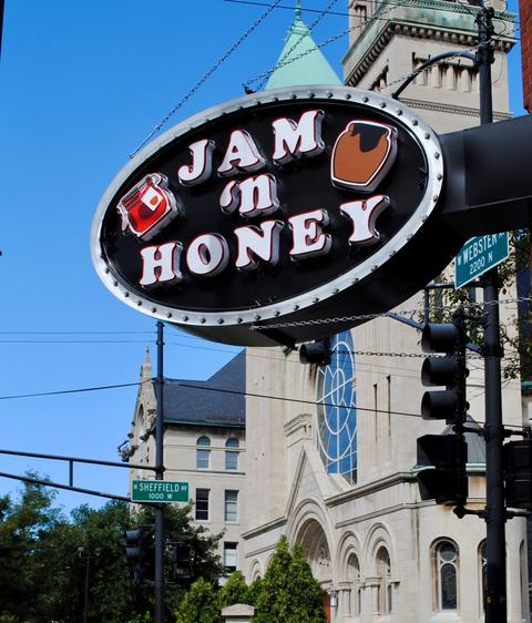 Jam 'N Honey, 958 W. Webster Ave., Chicago.