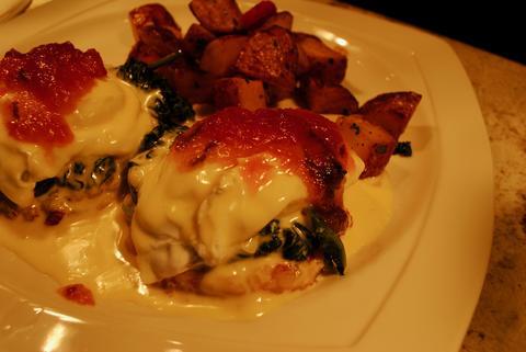 Italian eggs benedict atJam 'N Honey, 958 W. Webster Ave., Chicago.