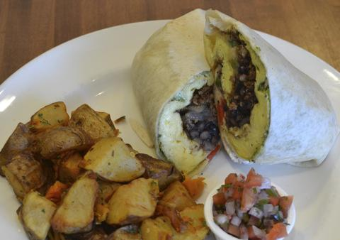 South of the Border burrito atJam 'N Honey, 958 W. Webster Ave., Chicago.