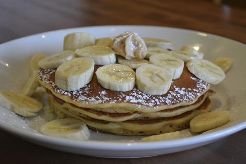 Banana pancakes atJam 'N Honey, 958 W. Webster Ave., Chicago.