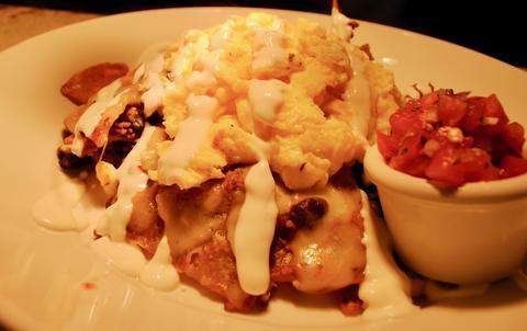 Breakfast chilaquiles atJam 'N Honey, 958 W. Webster Ave., Chicago.
