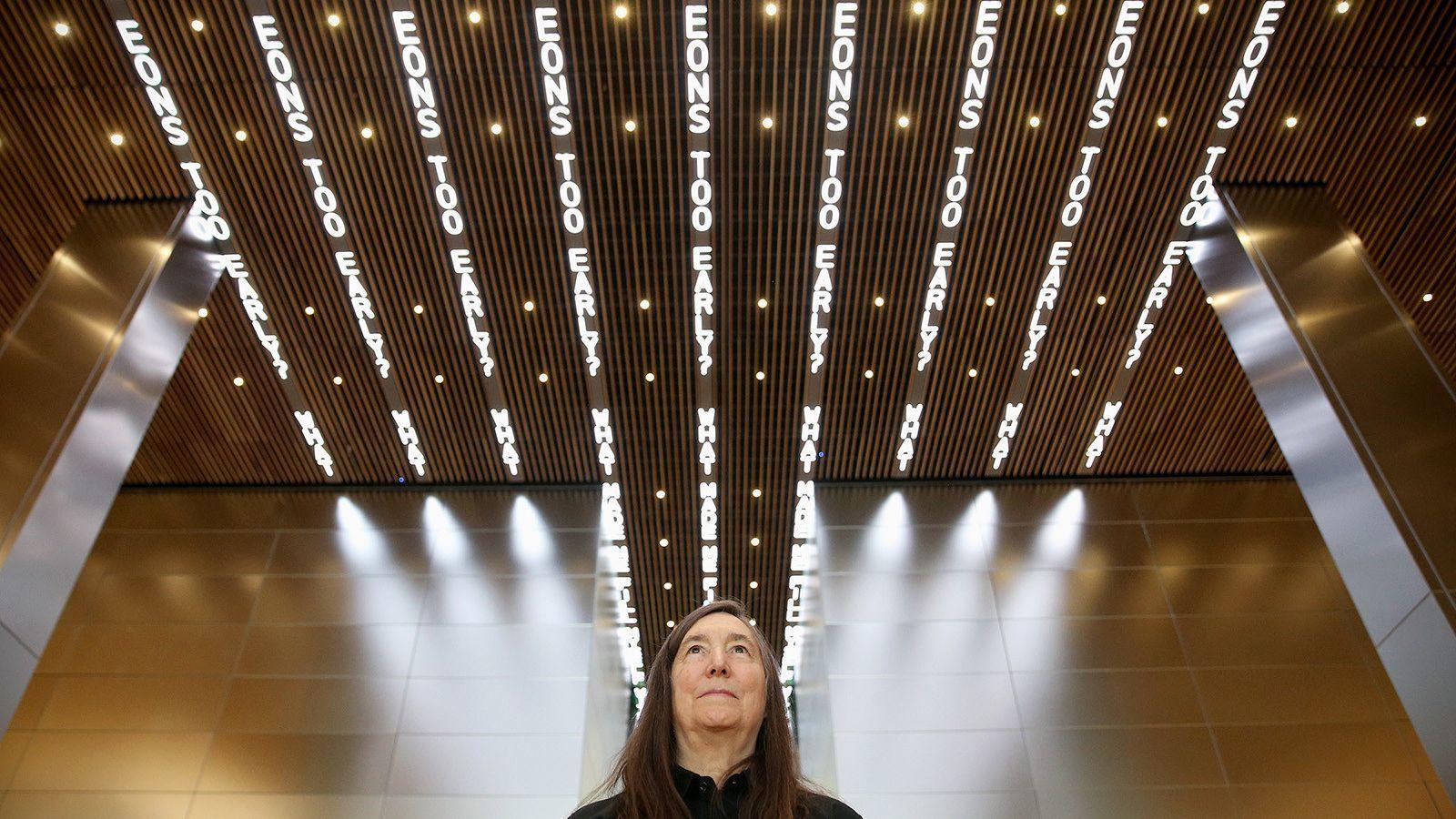 Desert X art show puts a Jenny Holzer installation on hold over animal welfare worries