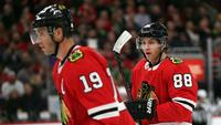 8daedd74944  Why is he hitting you   Getting used to playing against boyhood heroes is.  Chicago Blackhawks ·