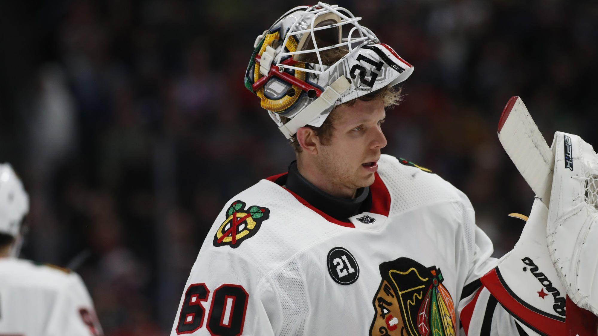 Rookie goalie Collin Delia has earned the right to start the Winter Classic  for the Blackhawks - Chicago Tribune 84a4c6290