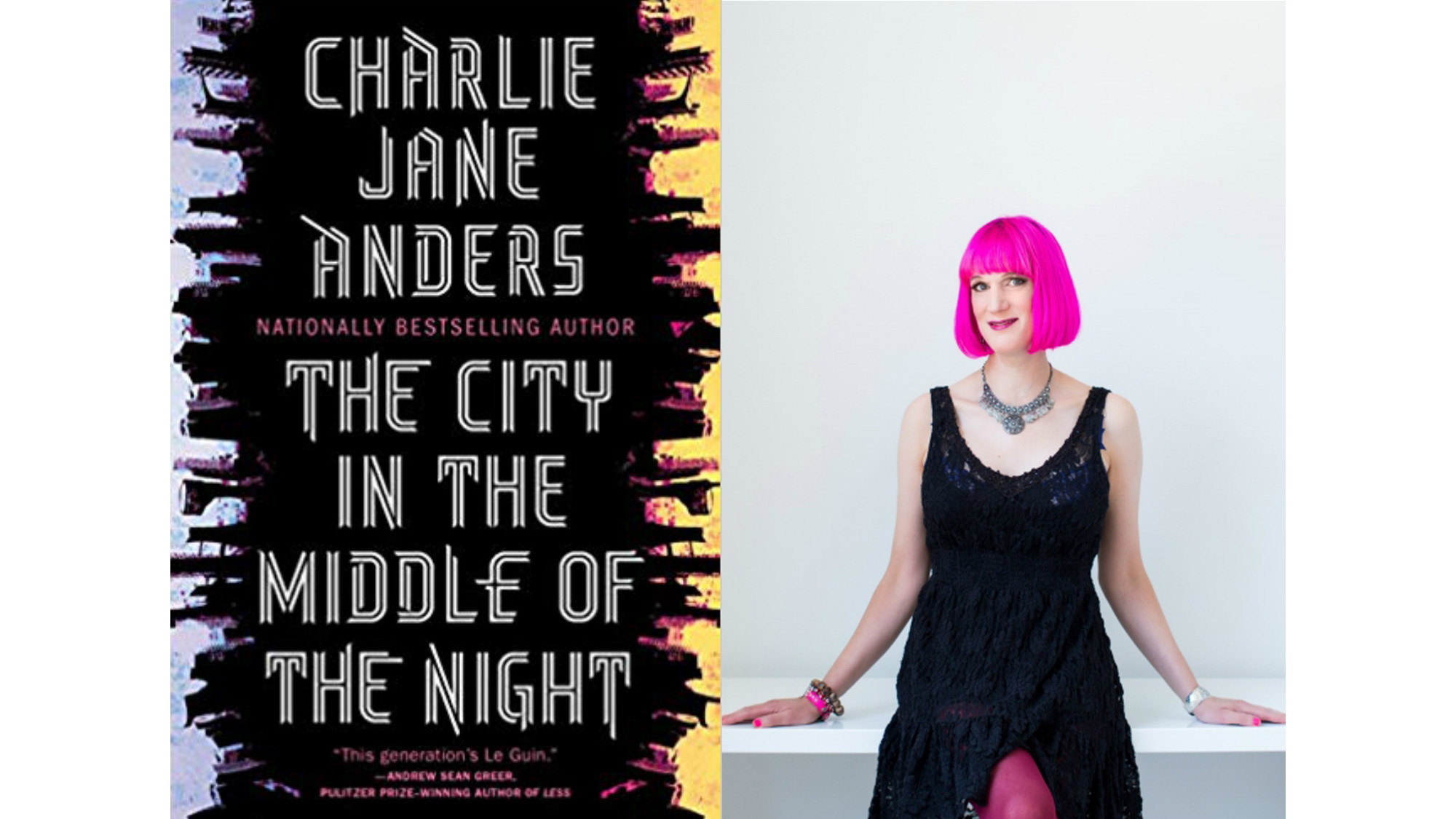 Science fiction: Charlie Jane Anders returns with a rousing and sophisticated adventure in 'The City in the Middle of the Night'