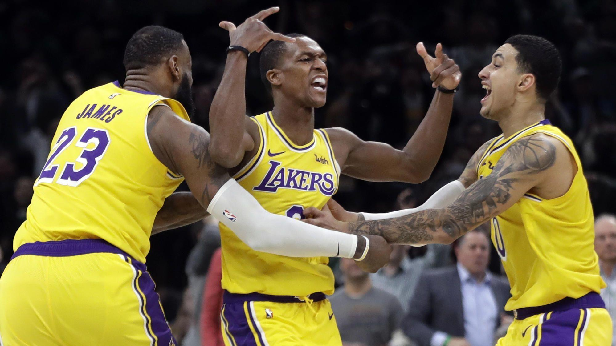Five takeaways from the Lakers' 129-128 win over the Boston Celtics