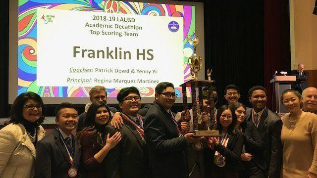 Essay Paper Benjamin Franklin High School Wins Los Angeles Unified School Districts   Academic Decathlon  The San Diego Uniontribune Sample Proposal Essay also Thesis Statement Narrative Essay Benjamin Franklin High School Wins Los Angeles Unified School  Thesis Statements For Persuasive Essays