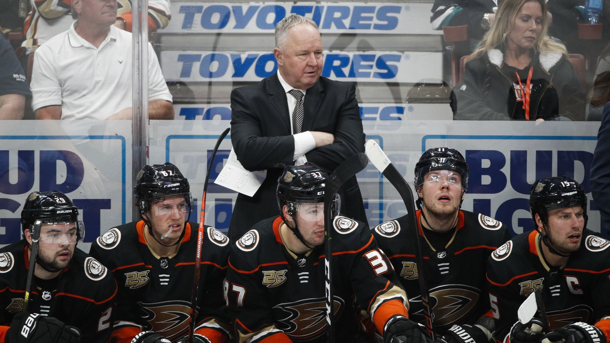 Ducks fire head coach Randy Carlyle, appoint Bob Murray as interim coach