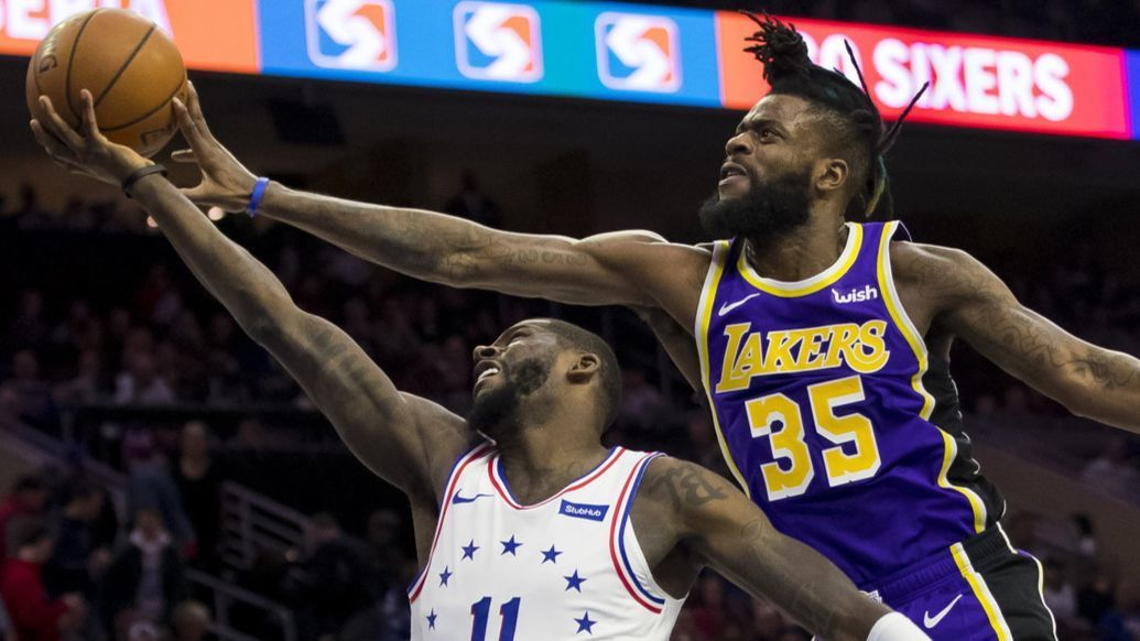 Five takeaways from the Lakers' 143-120 loss to the Philadelphia 76ers