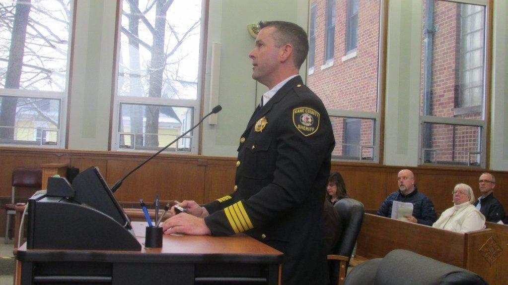 Kane sheriff to start program for jail inmates going through opioid withdrawal