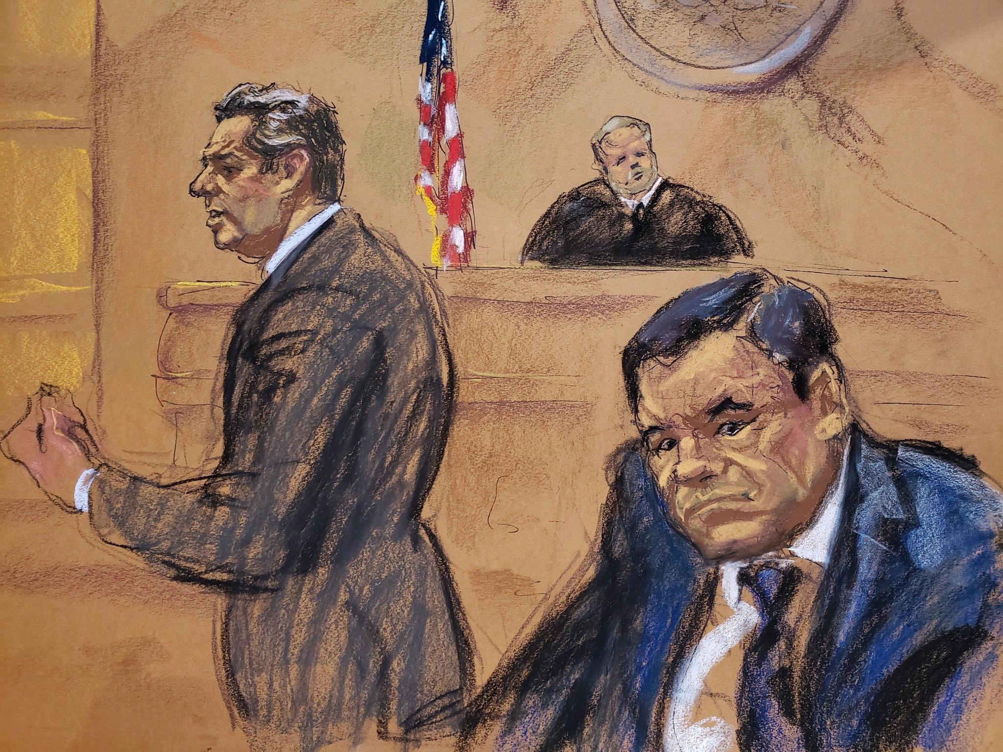 """Resultado de imagen para Jurado en EEUU declara culpable a """"El Chapo"""" Guzmán"""