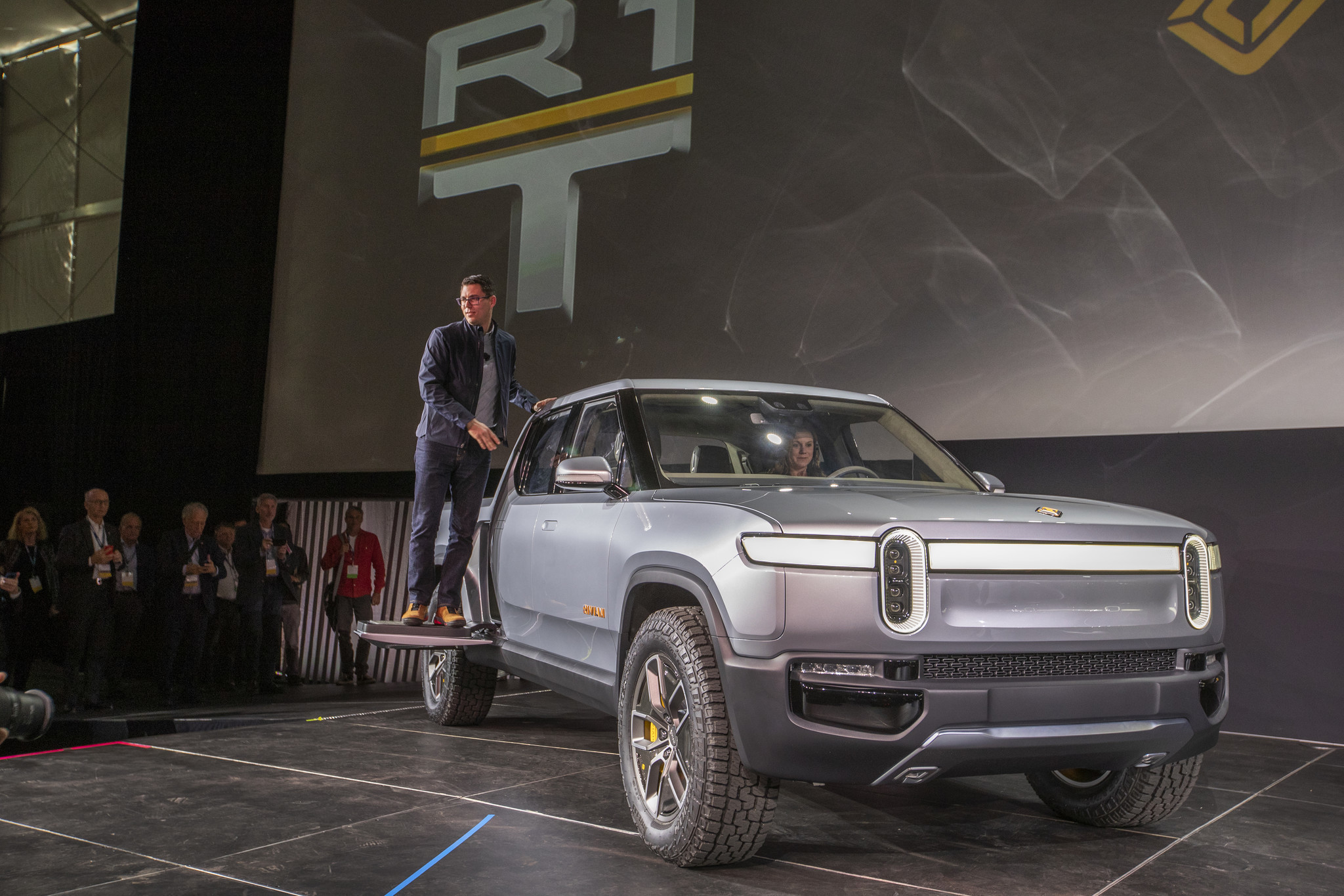Electric vehicle-maker Rivian lands $500 million from Ford as startup gears up at downstate factory